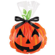 Wilton Jack-O-Lantern Shaped Party Bag (12pcs)