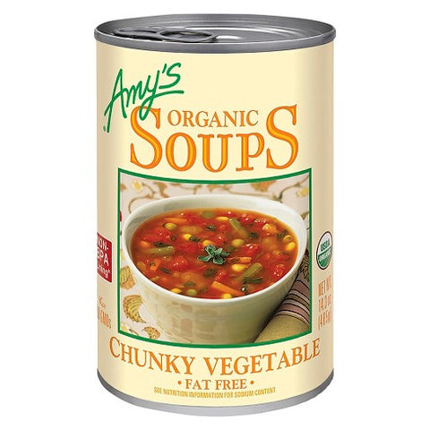 amy's organic soup chunky vegetable 400gr