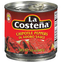 La Costena Chipotle Pepper Adobo Sauce 340gr