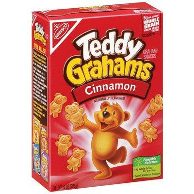 Nabisco Teddy Grahams Cinnamon  (280gr)