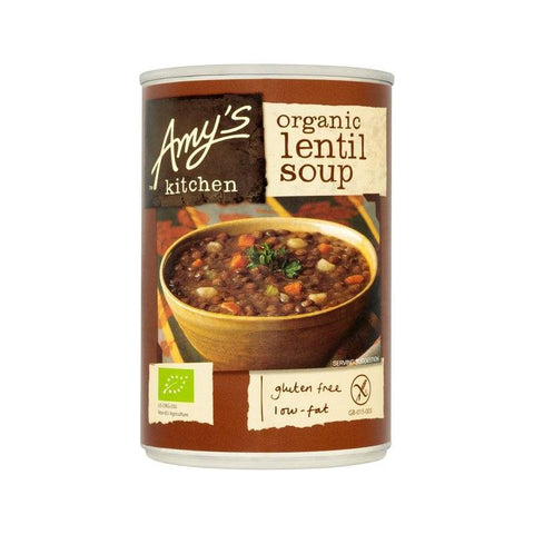 amy's kitchen lentil soup 400gr
