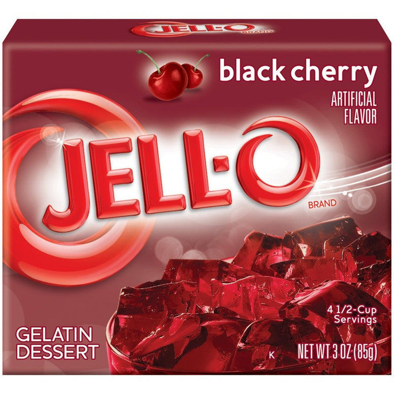 Jell-o Black Cherry