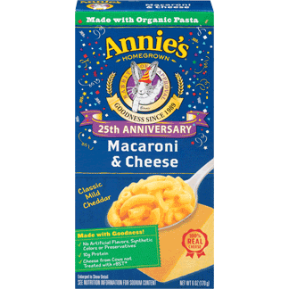 Annies Mac & Cheese 170gr (Made with Organic Pasta)