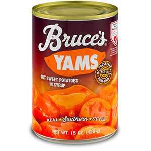 Bruce Cut Yams in Syrup 425gr
