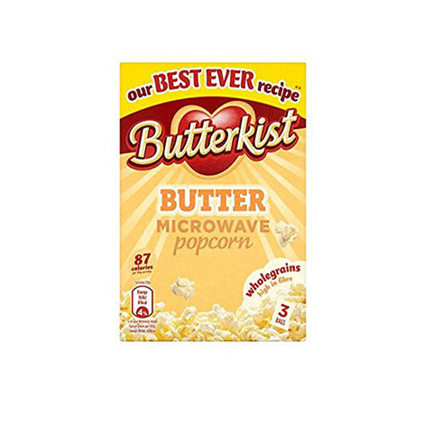 Butterkist Butter Popcorn (UK) 3 bags