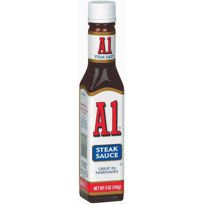 A1 Steak Sauce 140ml (large size)