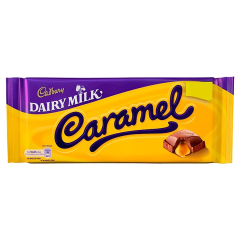 Cadbury Caramel 120gr (UK)