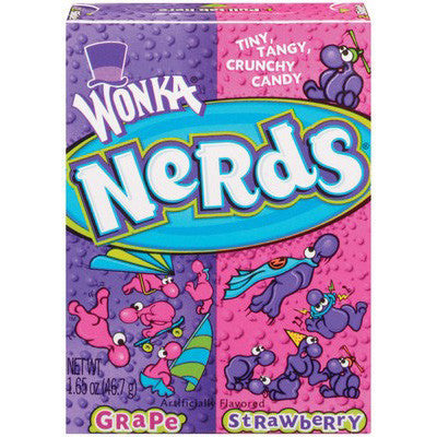 Wonka Nerds Strawberry-Grape