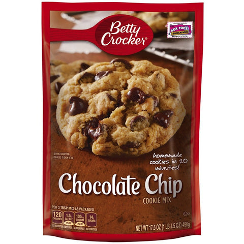 Betty Crocker Cookie Mix (495gr)