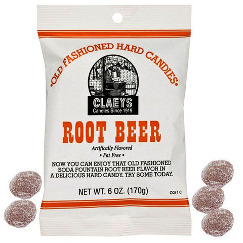 claey root beer candy 170gr