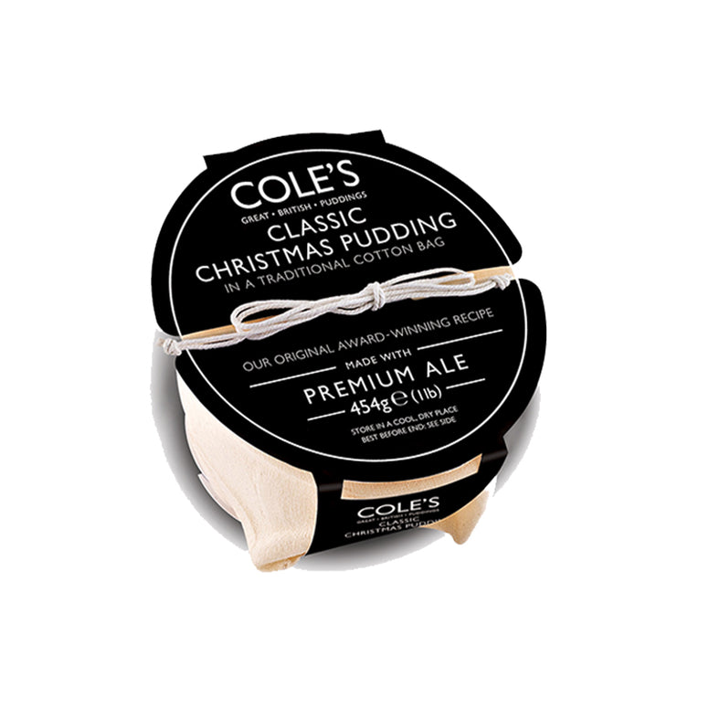 Cole Traditional Christmas Pudding 227gr