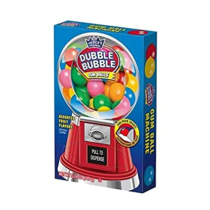 christmas dubble bubble machine box 150gr