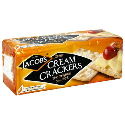 Jacobs Cream Crackers 200gr (UK)