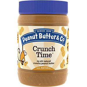 Peanut Butter & Co Crunch Time  454gr