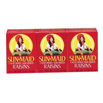 Sun-Maid Red 6Pcs