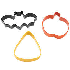 Wilton Bat/Jack-O-Lantern/Corn Cookie Cutter Set