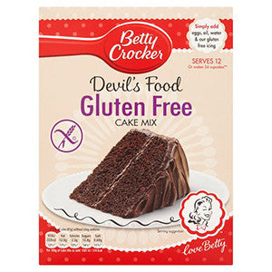 "Betty Crocker Devil Food ""Gluten Free"" 425gr (UK)"