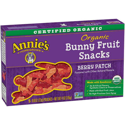 Annies Organic Berry patch fruit snack