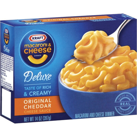 Kraft Macaroni & Cheese Deluxe 14oz(395r)