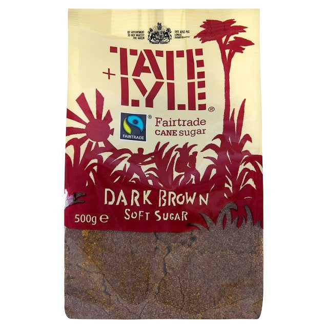 Tate & Lyle Fairtrade Dark Brown Sugar