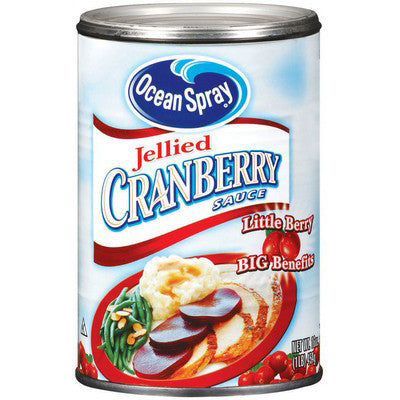 OS Cranberry Jelly Sauce