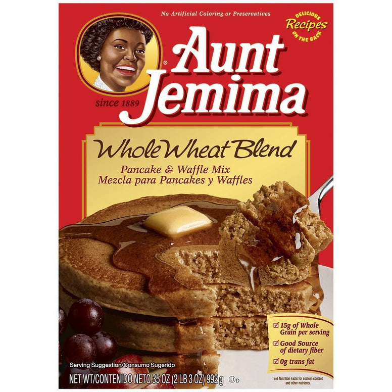 Aunt Jemima Whole Wheat Blend Pancake Mix