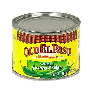 Old El Paso Green Chile 125gr