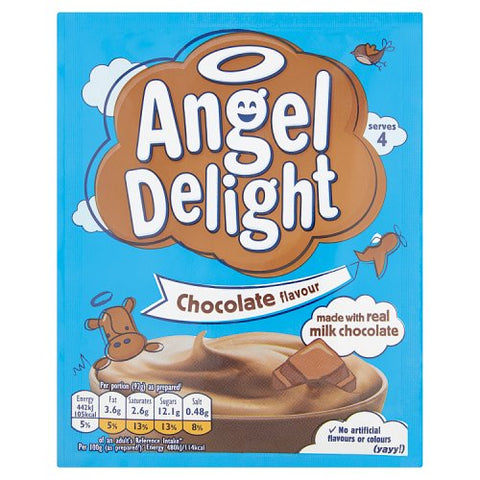 Birds Angel Delight Chocolate 60gr