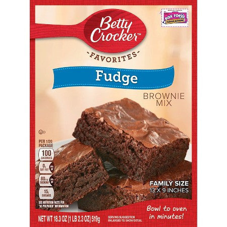 Betty Crocker Fudge Brownie (510gr)