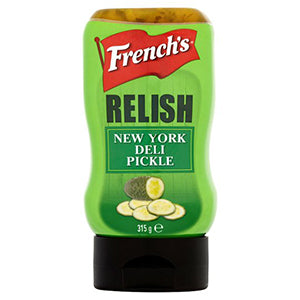 French New York Deli Pickles Relish 315gr (UK)
