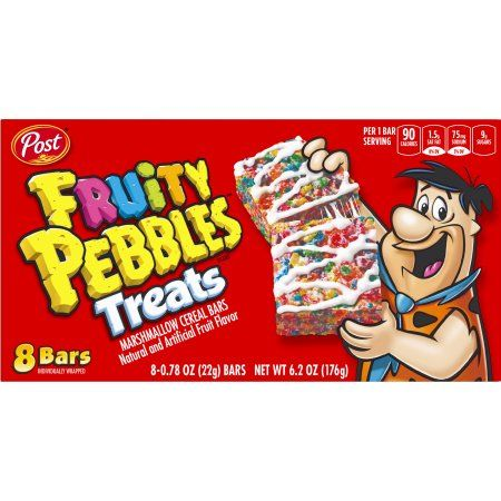 Fruity peebles treats (8 bars) 170gr
