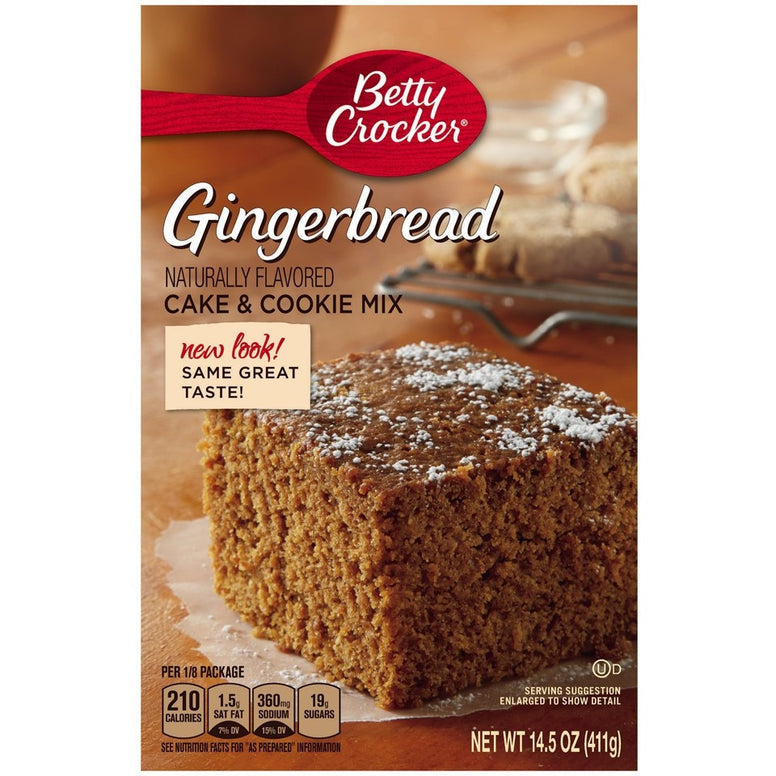 Betty Crocker Gingerbread Mix