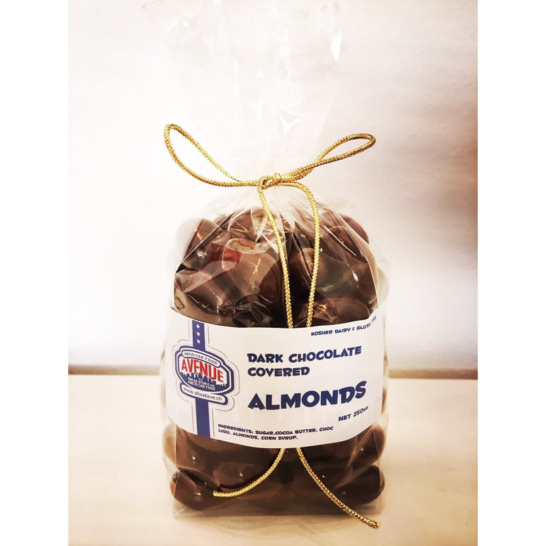 Dark Chocolate Covered Almonds (High Quality) 250gr