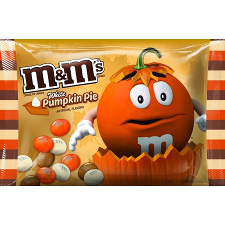 M&M'S White Pumpkin Harvest Blend 225gr