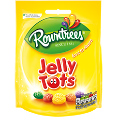 Rowntree Jelly Tots Bag 43gr