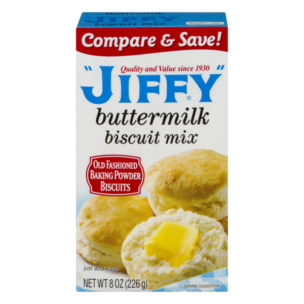 Jiffy buttermilk biscuit mix (225gr)