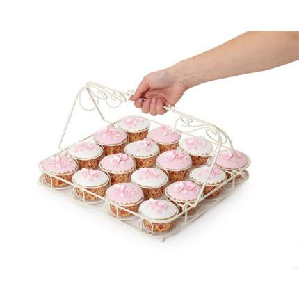 KC Sweetly Does It Decorative Wire Cupcake Carrier