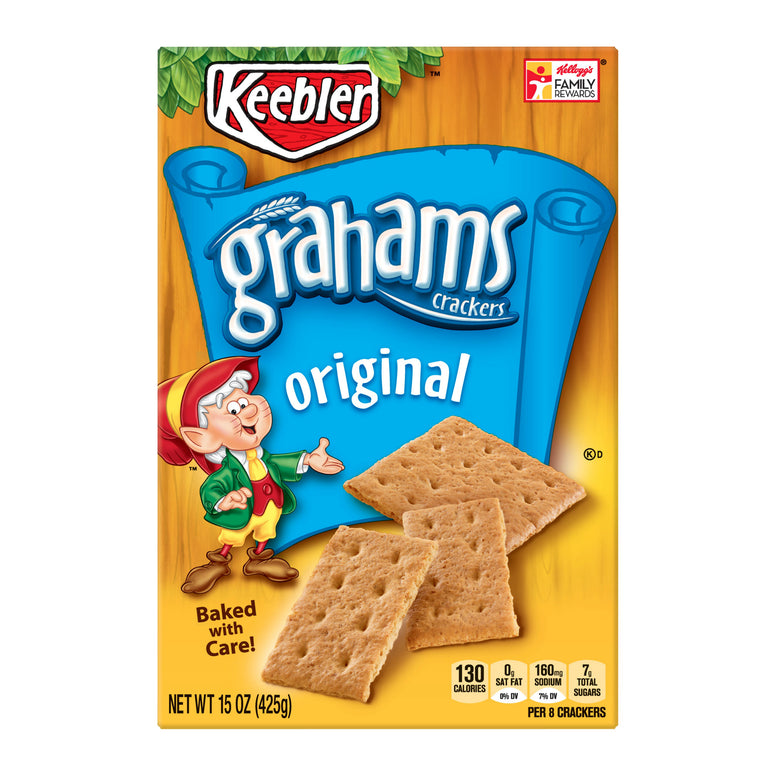 keebler graham crackers original 425gr (June 25th 19)