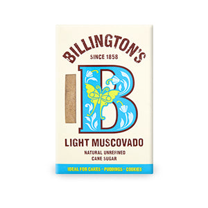 Billingtons Light Muscovado Sugar 500gr