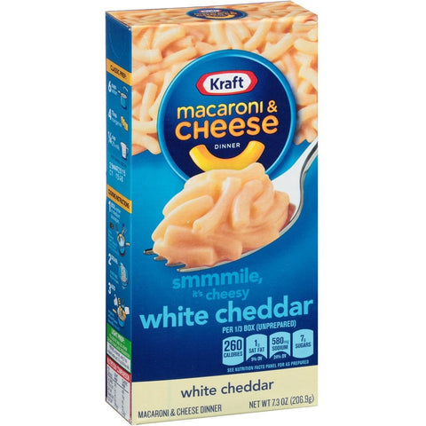 Kraft Macaroni Cheese White Cheddar (205gr)