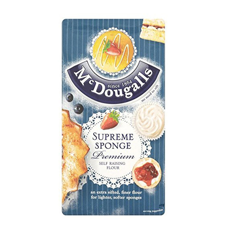 Mc Dougalls Supreme Sponge self raising 1kg