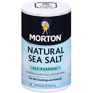 Morton Natural Sea Salt 740gr (All-Purpose)