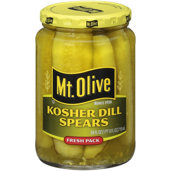 Mt Olive Kosher Dill Spears 670gr