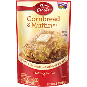 Betty Crocker Cornbread & Muffin Mix (180gr)