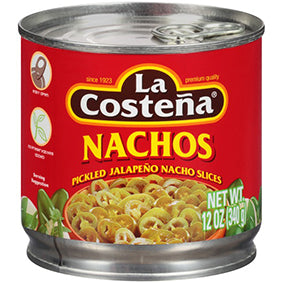 La Costena Nacho pickled Jalapeno Slice 340gr