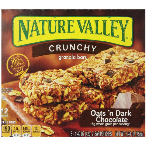 Nature Valley Oats & Dark Chocolate (5x2 bars) 220gr