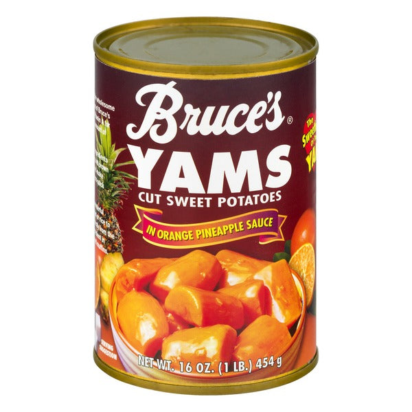Bruce's Yam in Ornage Pineapple Sauce 450gr