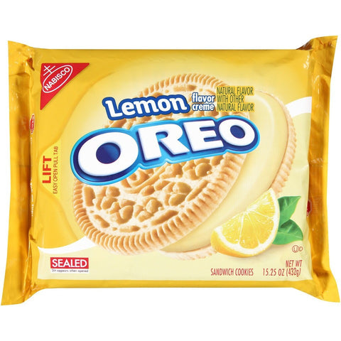 Nabisco Oreo Golden Lemon (430gr)