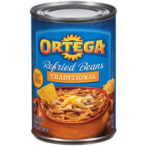 Ortega Traditional Refried Beans 455gr