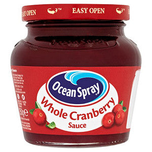 OS Whole Cranberry Sauce 250gr (UK)